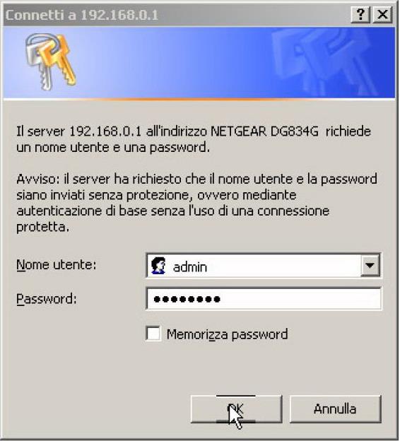 NETGEAR DG834 manuale configurazione adsl